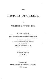The history of Greece: Volume 3