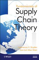 Fundamentals of Supply Chain Theory PDF