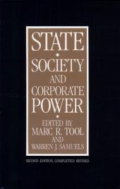 State, Society, and Corporate Power