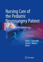 Nursing Care of the Pediatric Neurosurgery Patient PDF