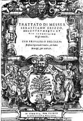 Trattato di messer Sebastiano Erizzo, dell'istrumento et uia inuentrice de gli antichi