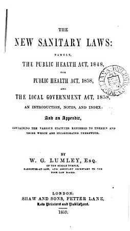 The New Sanitary Laws PDF