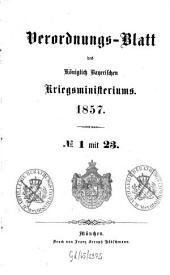 Verordnungs-Blatt: 1857