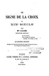 Le signe de la croix au XIXe siècle