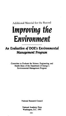 The Department of Energy s FY 1997 Budget Request for Environment  Safety and Health  Environmental Restoration and Waste Management  non defense  and Nuclear Energy