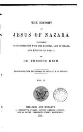The history of Jesus of Nazara, tr. by A. Ransom (E.M. Geldart).