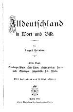 Alldeutschland in Wort und Bild