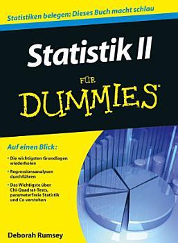 Statistik II f  r Dummies PDF