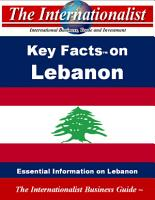 Key Facts on Lebanon PDF