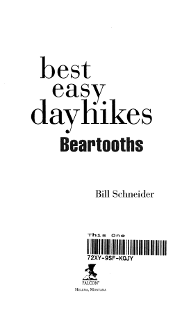Best Easy Day Hikes Beartooths PDF