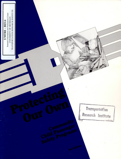 Protecting Our Own  Community Child Passenger Safety Programs  2nd Edition PDF