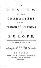 A Review Of The Characters Of The Principal Nations In Europe: In Two Volumes, Volume 2