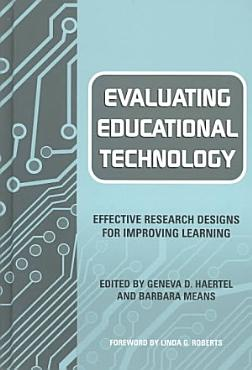 Evaluating Educational Technology PDF