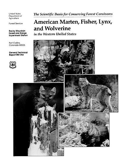 American Marten  Fisher  Lynx  and Wolverine PDF
