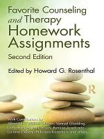 Favorite Counseling and Therapy Homework Assignments  Second Edition PDF