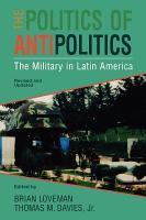 The Politics of Antipolitics PDF