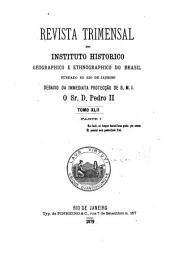Revista do Instituto Histórico e Geográfico Brasileiro: Edição 42,Parte 2