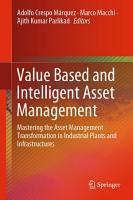 Value Based and Intelligent Asset Management PDF