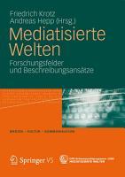Mediatisierte Welten PDF