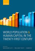 World Population and Human Capital in the Twenty First Century PDF