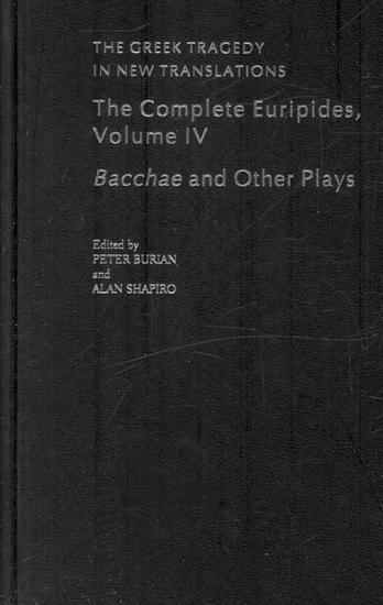 Bacchae and Other Plays PDF
