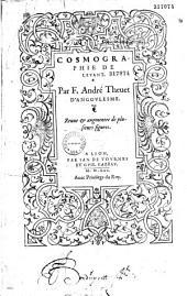 Cosmographie de Levant, par F. André Thevet...