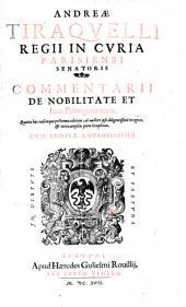 Commentarii de nobilitate et iure Primigeniorum