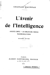 L'avenir de l'intelligence ...