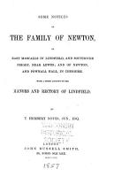 Some Notices of the Family of Newton  of East Mascalls in Lindfield and Southover Priory  Near Lewes  and of Newton  and Pownall Hall  in Cheshire PDF