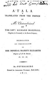Atala, tr. by R. Marshall