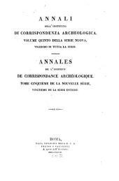 Annali dell'Instituto di Corrispondenza Archeologica: Volume 20