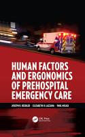 Human Factors and Ergonomics of Prehospital Emergency Care PDF