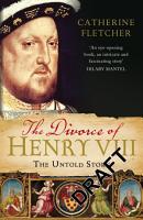 The Divorce of Henry VIII PDF