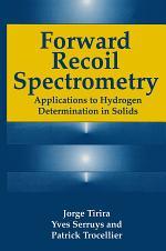 Forward Recoil Spectrometry
