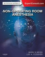 Non Operating Room Anesthesia E Book PDF