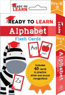 Ready To Learn Pre K K Alphabet Flash Cards Book PDF
