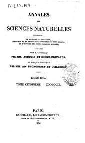Annales des sciences naturelles: Zoologie, Volume5