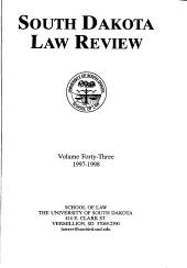 South Dakota Law Review PDF