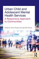 Urban Child and Adolescent Mental Health Services PDF