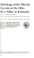 Geological Survey Water supply Paper PDF