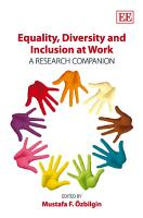 Equality  Diversity and Inclusion at Work PDF