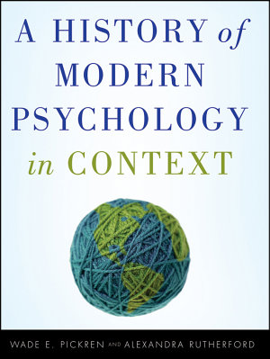 A History of Modern Psychology in Context PDF