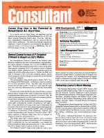 The Federal Labor-management and Employee Relations Consultant