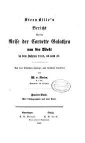 Bericht über die Reise der Corvette Galathea um die Welt in den Jahren 1845, 46 und 47: Band 2