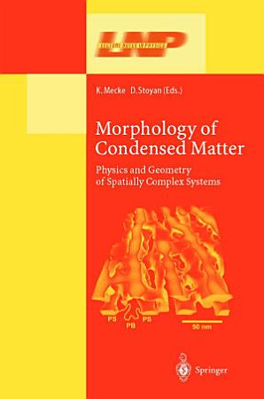 Morphology of Condensed Matter PDF