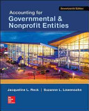 Accounting For Governmental Nonprofit Entities Book PDF