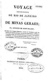 Voyage dans les provinces de Rio de Janeiro et de Minas Geraes: Volume1,Numéro2