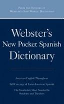 Webster s New Pocket Spanish Dictionary  Omax Custom  Book