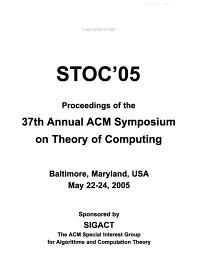 STOC 05 PDF