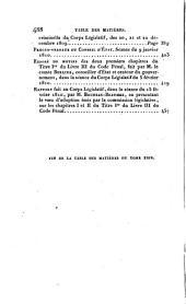 La législation civile, commerciale et criminelle de la France: Code pénal